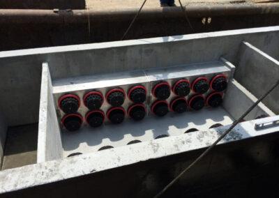 fabco industries stormsafe cartridge vault stormwater filter system 32 cartridge configuration 3