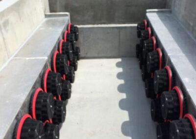 fabco industries stormsafe cartridge vault stormwater filter system 32 cartridge configuration all cartridges