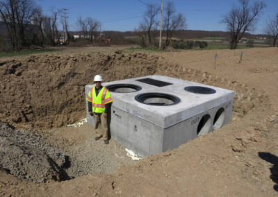 fabco industries stormsafe cartridge vault stormwater filter system in ground