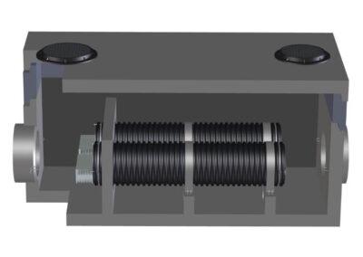 fabco industries stormsafe helix filter vault dual configuration render 2