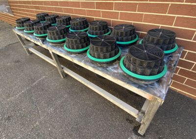fabco industries stormwater filter cartridge table right view
