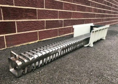 fabco industries trench drain stormwater filter system trash and debris capture device 2