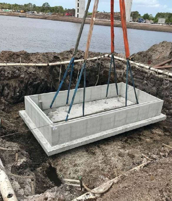 palm bay protecting the source vault installation