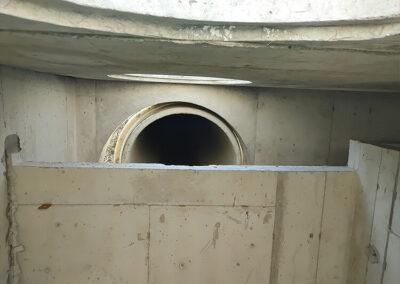 precast stormwater filtration vault bypass