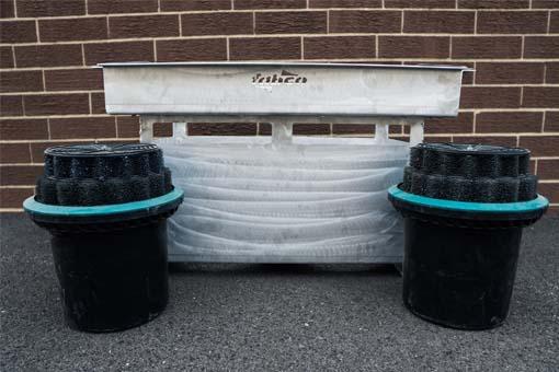 stormbasin cartridge based stormwater filter system