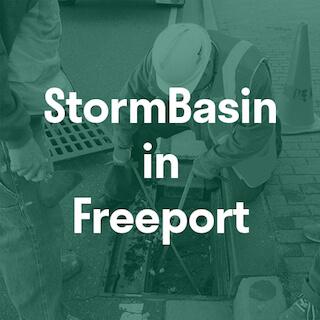 stormwater catch basin insert Freeport NY
