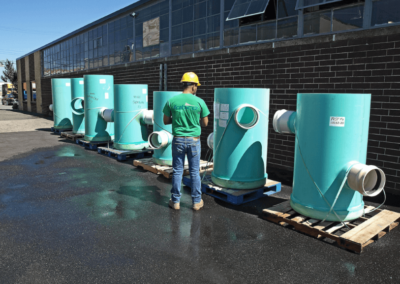stormwater filter harco unit line up