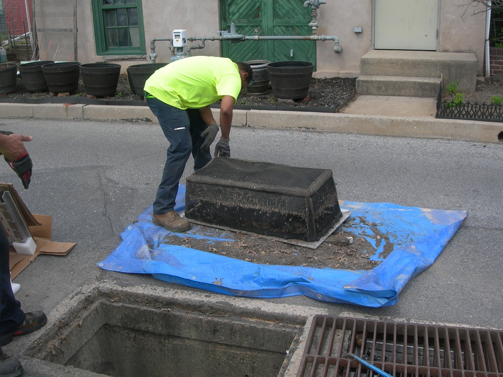 fountain hill stormsack catch basin insert filter exceeds mandatory ms4 compliance standards