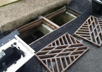 fountain hill dual grate configuration inlet
