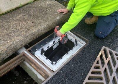 stormsack dual unit installation fountain hill pennsylvania